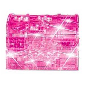 3D-Пазл Сундук розовый