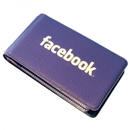 "Визитница ""Facebook"""