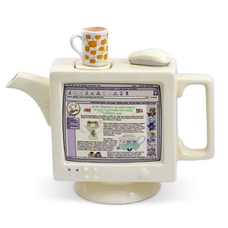 """Чудо - Чайник """"Пентиум"""" в виде монитора компьютера"""