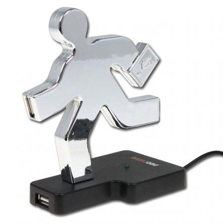 "USB Hub ""Бегущий человек"""