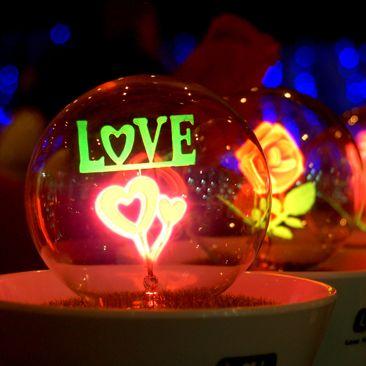 """Светильник - ночник LYL с надписью """"LOVE"""""""