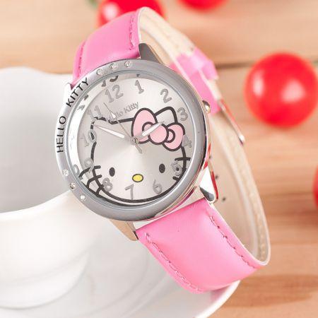 """Часы """"Hello Kitty"""" наручные розовые"""