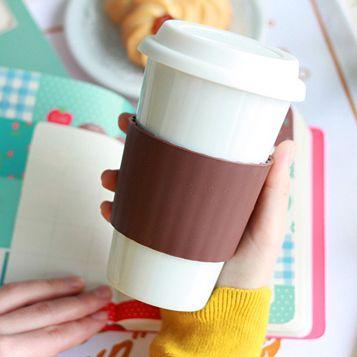 """Эко кружка """"Бумажный стаканчик"""" керамическая """" I am not a paper cup """""""