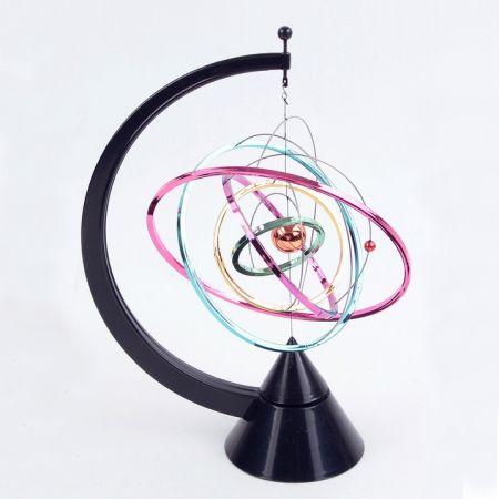 """Настольный антистресс сувенир """"Солничная система"""" цветной kinetic sculpture antistress"""