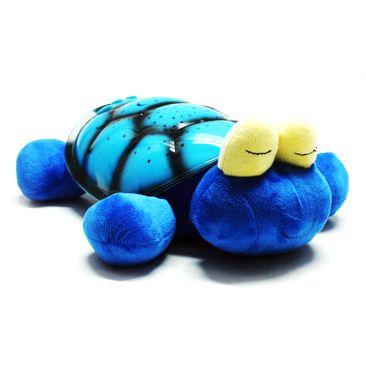 Ночник Черепашка - проектор звездного неба USB голубая