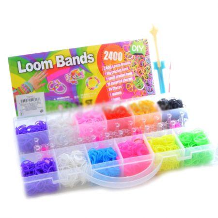 Набор для плетения Loom Bands 2400 Profi