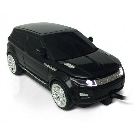 """Мышка - машинка """"Range Rover"""" Rapido USB черная"""