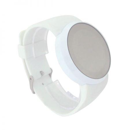 """LED часы """"Зеркальные"""" белые"""