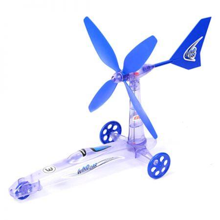 """Эко конструктор """"Машинка"""" работает на энергии ветра"""