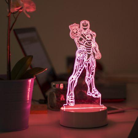 """3D светильник """"Человек"""" 25 см"""