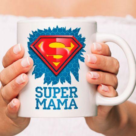 """Кружка """"супер Мама"""""""