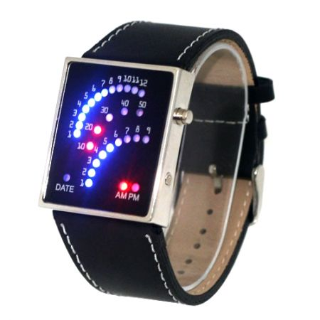 """Led часы """"Спидометр 2"""" наручные"""
