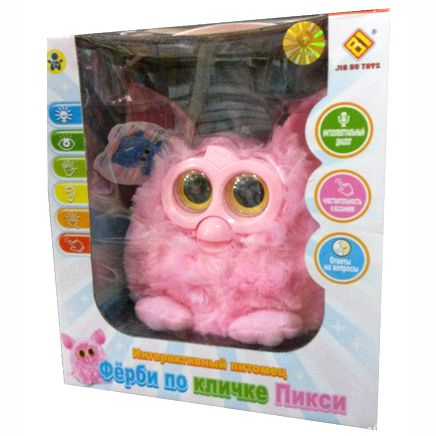 Furby Пикси - русифицированный Ферби Pixi
