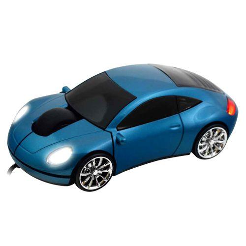 Мышь «Porsche 911» оптическая голубая USB