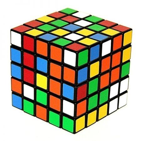 Головоломка пластиковая Кубик 55 бумажные наклейки