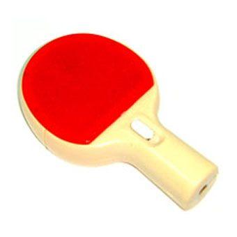Точилка для карандашей Ракетка красная